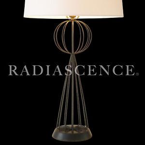 TONY PAUL SPUTNIK WIRE GLOBE SPHERE SCULPTURE ATOMIC MODERN TABLE Lamp 1950'S