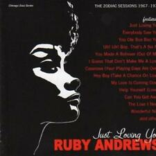 RUBY ANDREWS Just Loving You NEW & SEALED CD NORTHERN SOUL R&B MODERN (GRAPEVINE