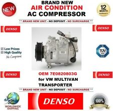 DENSO NEW AIR CONDITION AC COMPRESSOR OEM 7E0820803G for VW MULTIVAN TRANSPORTER