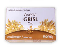 GRISI OAT AVENA NATURAL SOAP Balancing 3.5 oz Scented Bar Hand Face Jabon 1 Pack