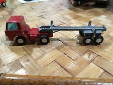 Tootsie Toy Red Auto Diecast Transport Truck 1970 Vintage Antique Metal Rare HTF