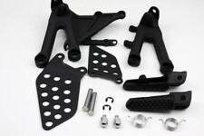 Black Front Rider Foot Pegs Bracket Fit For Honda Cbr1000Rr 2004 2005 2006 2007