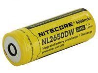 Nitecore NITECORE-NL2650DW 26650 5000 mAh 3.7V Protected Lithium-Ion