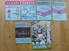 Newcastle United Away Team Football Programme Collections/Bulk Lots