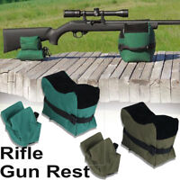 Rifle Rest Sand Bag Stand Hunting Rear Shooting Range Front Rear Bag