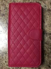 Alcatel Fierce 4 Wallet + Screen Protector Pink