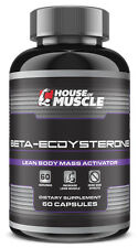 House Of Muscle Beta-Ecdysterone - Lean Mass Activator - 60 Capsules