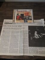 Blossom Dearie - Four Classic Albums with newspaper clipping from 2009 2CDs