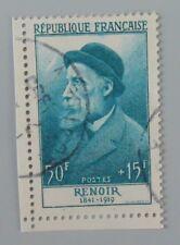 France 1955 1032 YT 1032 oblitéré cote 36 euros renoir