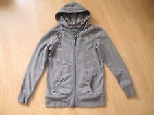 Sweatjacke Kapuzenjacke Sweater Jacke Stretch grau s.Oliver Gr. 38