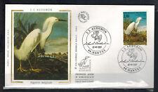 1995- Enveloppe Soie Fdc 1°Jour-J.J.Audubon-Aigrette -Obl.Nantes -Timbre Yt.2929