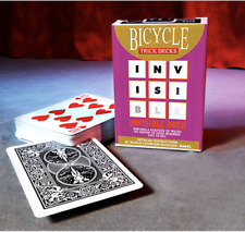 Invisible Deck Bicycle (Black) from Murphy's Magic