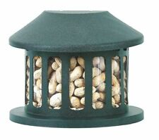 """Heritage Farms Squirrel Diner Feeder 9.5""""W X 7.5""""D X 7.75""""H Green"""