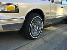 CHROME ROCKER PANLES FITS LINCOLN TOWN CAR 1995-1997 8.25 INCHES WIDE 12PCS