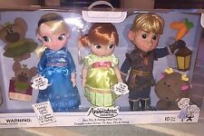 Disney store frozen animator toddler doll singing Anna talking Elsa and Kristoff