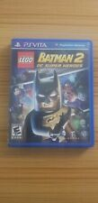LEGO Batman 2: DC Super Heroes PS Vita Game with Case (MINT) - Ship in 1-Day