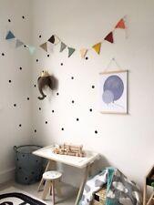 ADESIVI murali adesivi, a pois, CERCHIO, bambini Scandi Decor, Kids Room, Stanza Dei Giochi