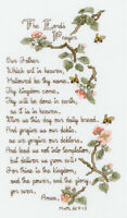 "Janlynn Counted Cross Stitch Kit 5.5""X10""-The Lord's Prayer (14 Count)"