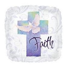 "Baptism or Communion "" Faith "" Foil/Mylar Balloons ( 3 Balloons ) 18"""