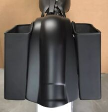 """197-2008 Harley Stretched Saddle Bags overlay Fender for Touring Flh 6"""" No Lids"""