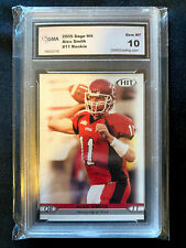 Alex Smith Utah 2005 Sage Hit Rookie Card Graded 10 RC
