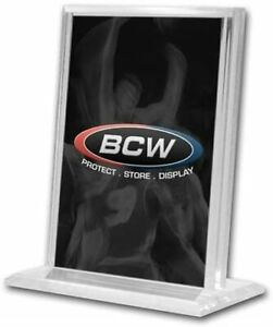 BCW Vertical Acrylic Card Stand Display Holder UV Protection 1-ACS-V