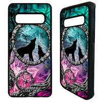 Dream catcher wolves howling wolf case cover for Samsung Galaxy S10 S10e plus