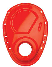 Trans-Dapt 9915 Timing Chain Cover Small Block Chevy Orange Powder Coated