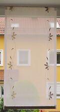 Scheibengardine Breite 46 cm x Höhe 90 cm -  neu  - modern