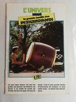 N88 Rivista Universo Okapi N° 249 La Grande Famiglia Delle Percussioni