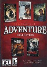 SECRET FILES TUNGUSKA + DEAD REEFS + NIBIRU + 2 more PC Game Adventures NEW