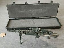 1/6 Scale MK-14 Sniper Rifle, Extending Stock, Spring Loaded Tripod, Case NHW-73