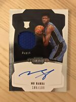 Mo Bamba RPA 2018-19 Dominion Jersey Rookie Patch Auto Autograph RC /199 Magic