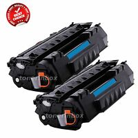 2pk Compatible Q5949A 49A Bk Toner Cartridge For HP LaserJet 1160 1320 3390 3392