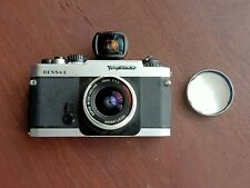 Voigtlander Bessa L with  15mm aspherical super wide Heliar lens and viewfinder