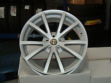 Set 4 Cerchi in lega 17 Alfa romeo 147 156 Q2 Gt GTv GTA Sportwagon T spark T.I.