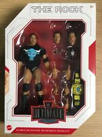 WWE Mattel The Rock Ultimate Edition Series #6 Figure