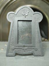 More details for welsh slate folk art quarryman photo frame 19th century