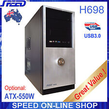 Speed H698 Usb3.0 PC Tower Case for Office or Gaming and a Optional PSU Only