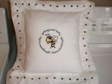 New Georgia Tech Yellow Jackets Baby Pillow NCAA College University BABY FANATIC