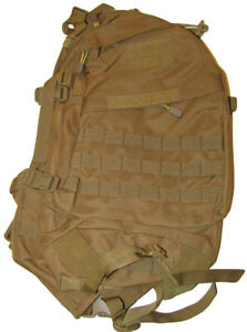 Tactical Coyote Special Operations 2 Day Assault Backpack Bag Case