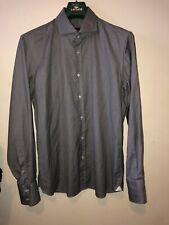 "Homme Ari shirt 17"" Col 43"" Tour De Poitrine RARE Ari Designer made in italy 100% coton"