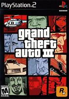 Grand Theft Auto III  3 (Sony PlayStation 2, 2012) ps2