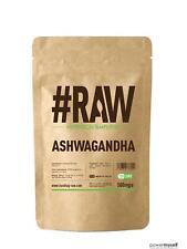 RAW Ashwagandha 120 x 500mg V Caps Hi Strength 5:1 Extract
