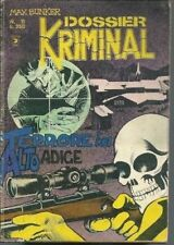 DOSSIER KRIMINAL N. 11 - MAX BUNKER -