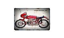 1953 lambretta 250 gp racer Bike Motorcycle A4 Retro Metal Sign Aluminium