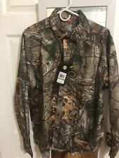 Under Armour Men's Button-down RealTree Camo Long Sleeve Shirt 1255090 Large NEW