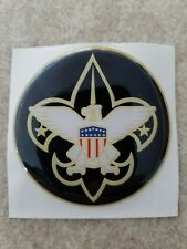 "BOY SCOUTS FULL COLOR 2""  INCH EPOXY DOME CAR DECAL STICKER EMBLEM"