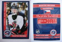 2015 SCA Martin Prusek Columbus Blue Jackets goalie never issued produced #d/10