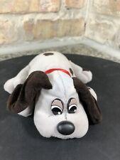 Vintage Tonka Pound Puppies Plush Puppy Dog Stuffed Animal Grey Brown Spots